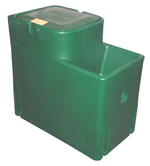 18165G WaterMatic 100 top value, all poly livestock waterer for 20 beef cattle or horses