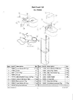 Stall Fount 125 (heated) Parts