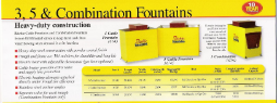 Cattle & Combination Fountain pricing and specifications