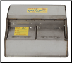 16458 Pork King 2-1 heated livestock waterer with stainless steel trough for 80 hogs and swine (SKU: RIT16458)