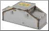 16457 Pork King 2 heated livestock waterer with stainless steel trough for 80 hogs and swine (SKU: RIT16457)