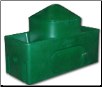 18222G WaterMatic 150S all poly livestock waterer specifically designed for 100 sheep or goats (SKU: RIT18222G)